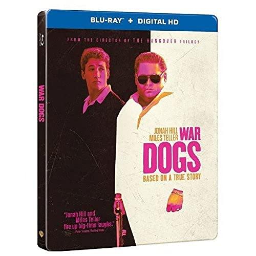 War Dogs Steelbook (Blu-ray + Digital HD)