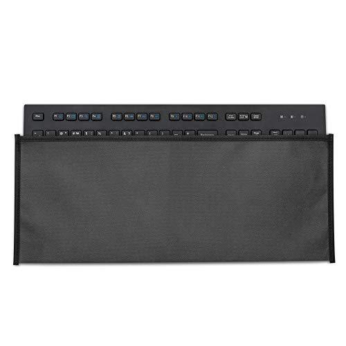 kwmobile Custodia Copritastiera Compatibile con Logitech K280e PRO (Corded) - Protezione Antipolvere Tastiera PC - Cover Protettiva Grigio Scuro