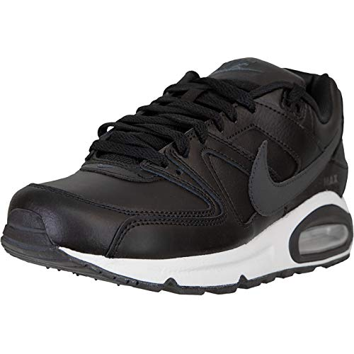 Nike Air Max Command - Zapatillas de piel, color Negro, talla 44 EU