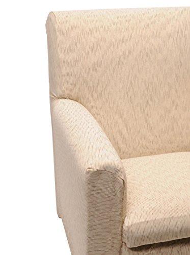 Happidea F3111101621030000 S14 Copridivano Sfumato, Poliestere-Cotone, Panna, 38x19x31.5 cm