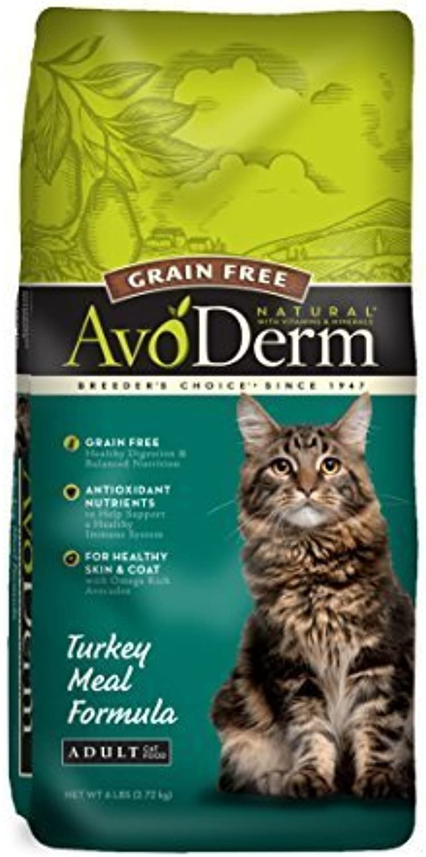 AvoDerm Natural Grain Free Cat Food, 6Pound, Turkey by AvoDerm Natural