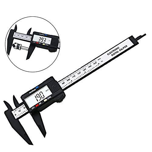 Gasea Calibrador Digital Electrónico 0-150 mm, Calibrador a