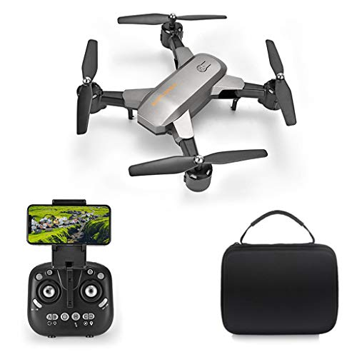 YU-NIYUT Foldable WiFi Drone with 4K Camera for Adults, Quadcopter with Brushless Motor, Auto Return Home, Follow Me, 26 Minutes Flight Time, Long Control Range