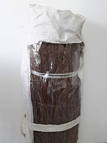 ESPRIT JARDIN Cloture Brande DE Bruyere - 2M x 3M - 2,50 kg/m2