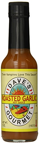 Dave's Gourmet Hot Sauce, Roasted Garlic, 5 Ounces