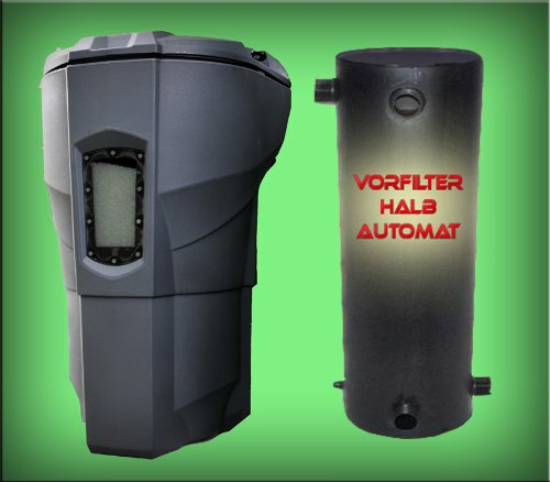 Calictus Automatic + mechanisch-biologischer Vorfilter