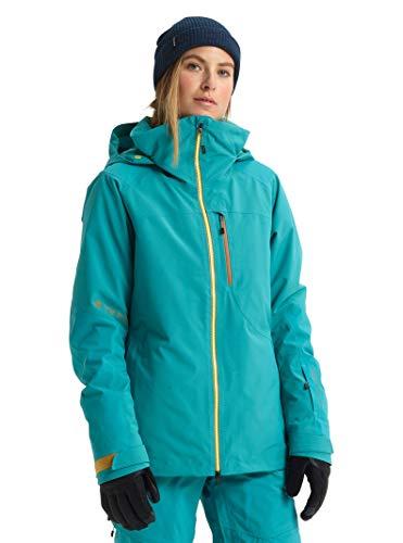 Burton Womens Ak Gore-Tex Embark Jacket, Green-Blue Slate, Small