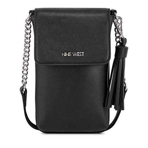 Nine West Springy Mini Phone Crossbody Black One Size