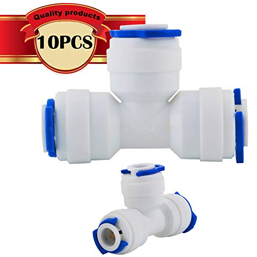 Hep2o Raccord plastique Push-Fit droit 15/mm quantit/é: 1/–3