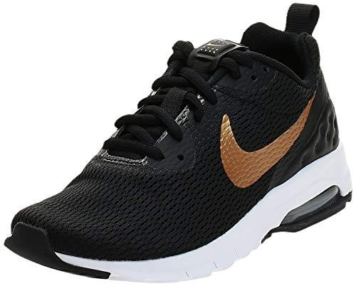 Nike Damen Air Max Motion Lw Fitnessschuhe, Schwarz (Black/Metallic Gold 002), 36.5 EU