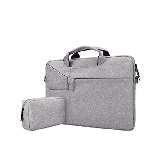 Xfc Laptop-Umhängetasche Compatibl 15,6 Zoll Notebook-Computer, Ultraportable Handtasche Aktentasche Wasserdicht Unisex,5