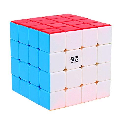 BestCube Qiyi 4x4 Qiyuan S 4x4x4 Speed Cube Stickerless Puzzle Cube(Qiyuan S Version)