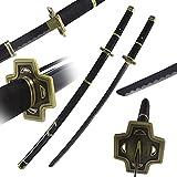 Roronoa Zoro Sword Yubashiri Anime Samurai Sword Carbon Steel Katana 40.55-Inchs