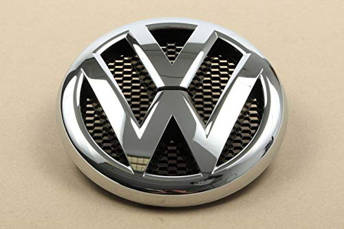 Volkswagen 2H0853601AULM Emblem Kühlergrill Logo chrom schwarz