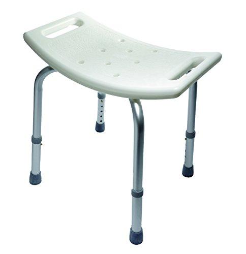 Novolife NL-10016 Badehocker, Dusch und Badebretter