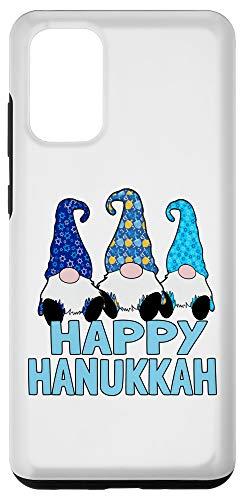 Galaxy S20+ Happy Hanukkah Gnomes Elves Cute Blue Hats Case