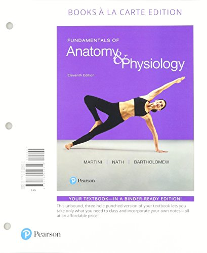 Fundamentals of Anatomy & Physiology, Books a la Carte Edition; Modified Mastering A&P with Pearson eText -- ValuePack A