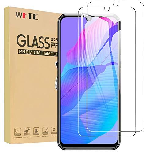 WFTE [2-Pezzi] Vetro Temperato per Huawei P Smart S Pellicola Vetro Protettiva [Durezza 9H][ Anti graffio][Anti-Impronte][Senza Bolle] Pellicola Vetro Temperato per Huawei P Smart 2020