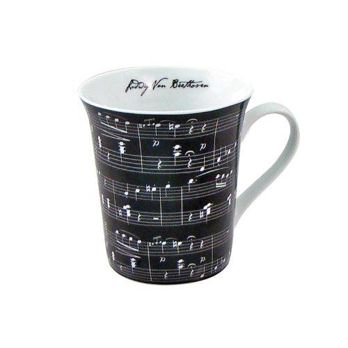 Ceramic Music Themed Mug