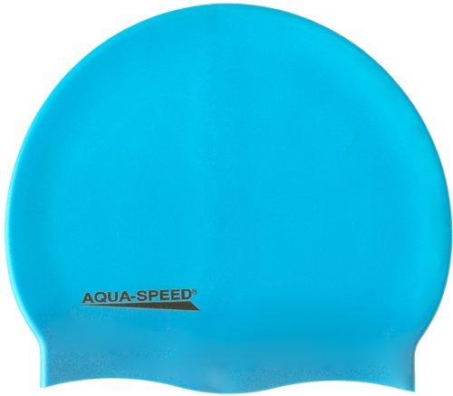 Aqua-Speed - Bademütze/Schwimmkappe - Super-Stretch Mega 100-30 (hellblau)
