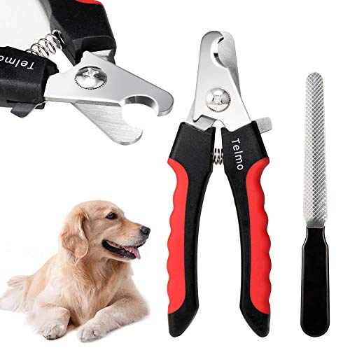 TeImo Professional Dog Nail Clippers and Trimmer