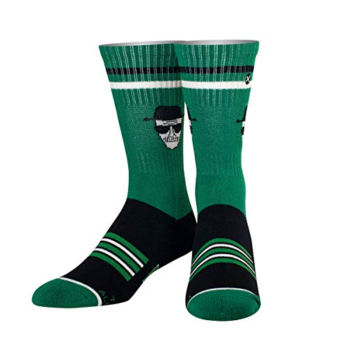 ODD SOX Unisex Crew-Socken - Who is Heisenberg? (Breaking Bad)