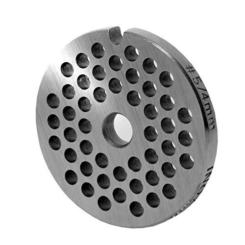 INOX Lochscheibe Gr.5-4,0 MM Bohrung - für Fleischwolf Jupiter - Bosch - Alexanderwerk