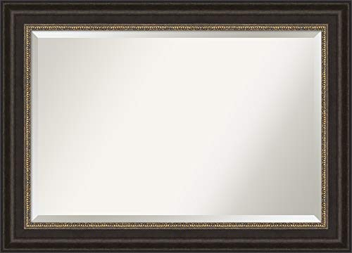 Amanti Art Framed Vanity Mirror   Bathroom Mirrors for Wall   Paragon -