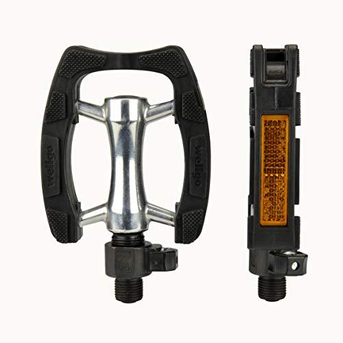 FISCHER Fahrradpedale Clip-On, Pedale, Nonslip-Auflage, Schnellverschluss
