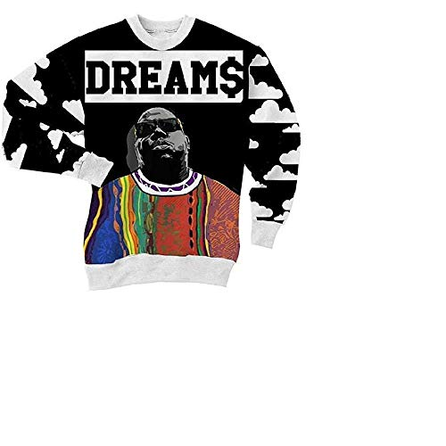 The Notorious B.I.G. Crewneck Sweater (2XL/Asian Large/USA) Black