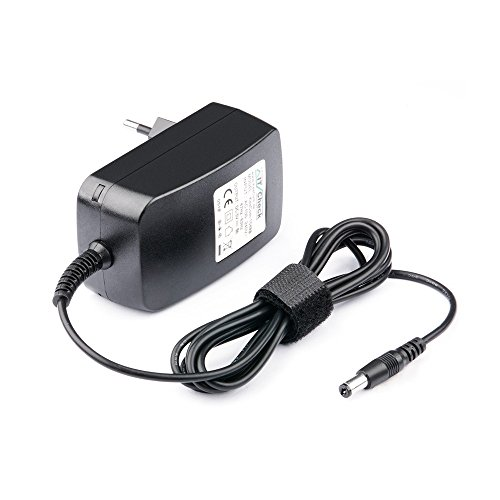 KesCom 5V Netzteil/Steckernetzteil bis zu 3A 3000mA Klinkenhohlstecker 3,50 mm x 1,35mm + innen passend für viele Elektronik Geräte