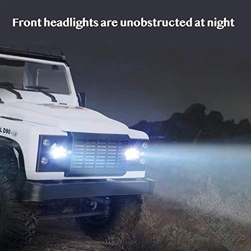 RC Crawler kaufen Crawler Bild 1: jinclonder ferngesteuerte Autos, Land Rover Defender Modellauto Anniversary Edition, RC Rock Crawler Buggy, Offroad-Militär-Truck/Allround-Simulationssteuerung*
