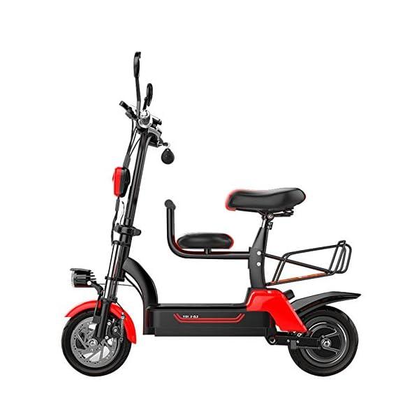 41BrnC+xCbL. SS600  - E-Bike City Klapprad 37km/h - E-Faltrad Nabenmotor 580W, 48V 20AH, Elektro Faltrad für Damen und Herren, Reichweite: 100 km, Tragfähigkeit 140Kg