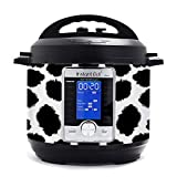 KRAFT'D Wrap for Instant Pot Accessories 6 quart Ultra 10 in 1 Cover Sticker | Wraps fit InstaPot Ultra 10 in 1 6 Quart ONLY | Cow Print Moo Farm