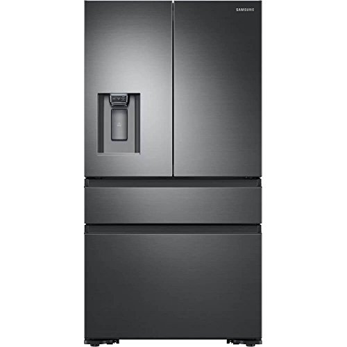 Samsung RF23M8070SG 23 cu. ft. Capacity Black Stainless Counter Depth French Door Refrigerator RF23M8070SG/AA
