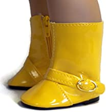 Jiminee's 18 Inch Doll Shoes Gold Yellow Rain Boots Shoes Made for 18