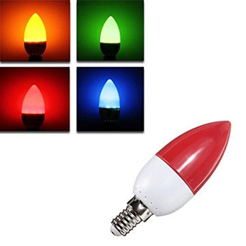 Bazaar 2835 E14 5 W LED-lampen 10 cm kleurrijke energiebesparing? Kaars kroonluchter lamp licht AC 220 V