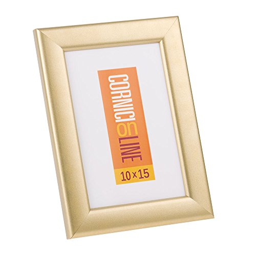 Cornice in legno 108 Oro Satinato Cornice da Muro 50x70
