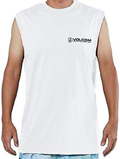VOLCOM(ボルコム) 2019年春夏モデル メンズ タンクトップ SURF MUSCLE TANK TEE ラッシュガード 品番:N37219G1 WHITE(ホワイト) XLサイズ