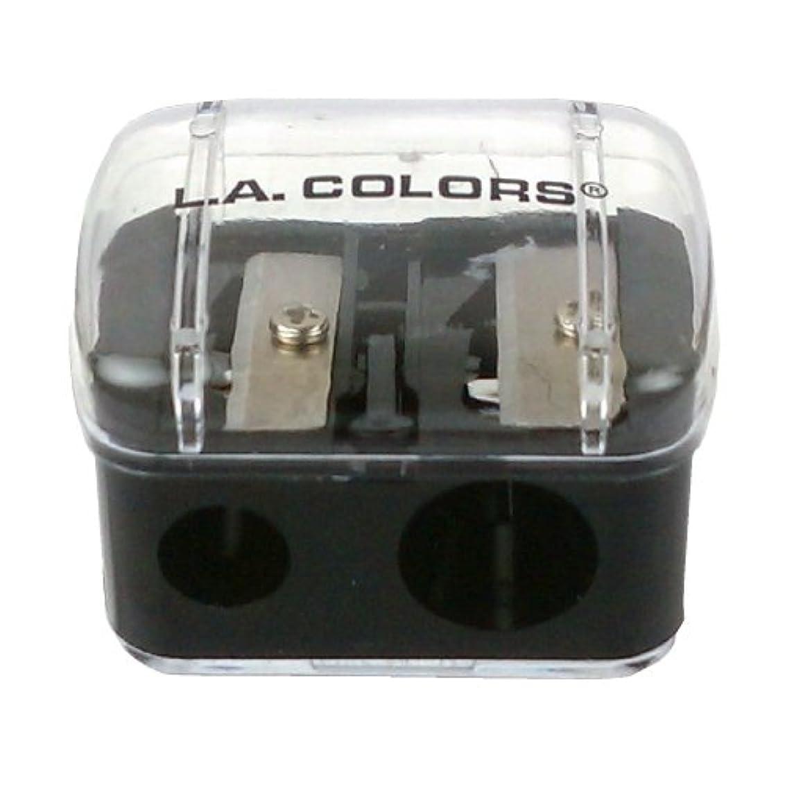図書館豊富制限された(3 Pack) LA COLORS Jumbo Dual Pencil Sharpener (並行輸入品)
