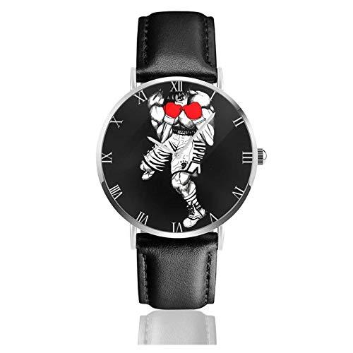 Montre Analogique Montres Bracelet de Entreprise Décontractée PU Leather Strap Watches Hajime No Ippo