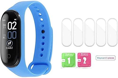 AMBM Reloj inteligente pulsera de fitness Trcker Sport impermeable presión arterial ritmo cardíaco Smarthwatch para mujeres y hombres (color: opción 12) - Opción 16