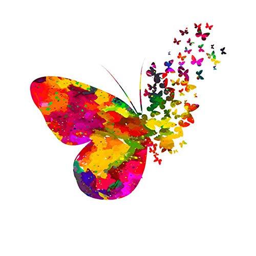 Etiquetas Ropa Niños Moda Hermosa Mariposa Parches De Hierro De Transferencia De Calor Pegatinas Térmicas Diy Parche De Hierro Aplique De Animales Para Ropa-X23
