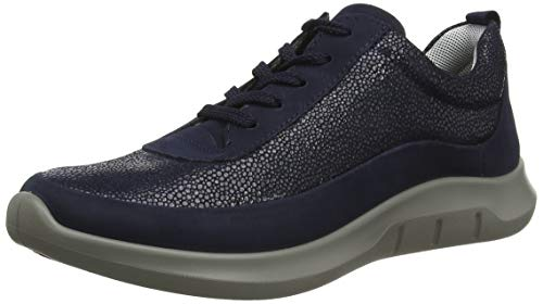 hotter Women's Star Sneakers Navy Multi 6 US Active Shoes