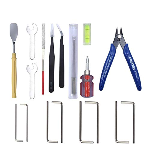 Printer Accessories 3D Printer Removal Tools Set Nozzle Cleaning Kit Tweezers Shovel Wrenches Screwdriver for 3D Printer Filament PLA ABS Reprap 3D Printing Accessories