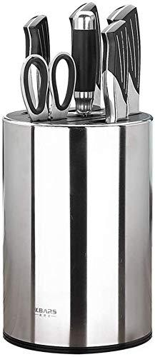 Porte-couteau fournitures de cuisine 304 en acier inoxydable couteaux de cuisine rack ménage outil de stockage rack multifonction insert porte-couteau non assemblé blocs de couteaux (Couleur, B), B