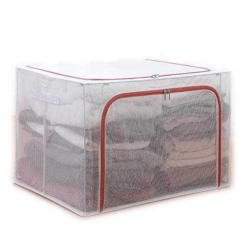 SXET Caja de Almacenamiento Caja organizadora de Ropa de Tela Caja de Dormitorio Armario doméstico Ropa Bolsa de Almacenamiento Plegable Cesta Artefacto
