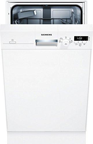 Siemens SR315W03CE Unterbaugeschirrspüler / A+ / 220 kWh/Jahr / 2380 L/jahr / Weiß / AquaStop / DuoPower-Doppelsprüharm