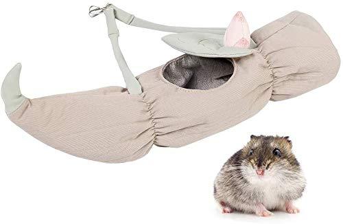 Y DWAYNE Pet Hamster Carrier Bag, Hamster Carrier Portable Respirant Outgoing Travel Bag with Bandoulière pour Hedgehog Sugar Glider Squirrel Rabbit