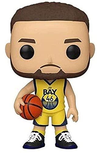 Pop Vinyl Pop NBA: Golden State Warriors-Steph Curry (Alternate) S5 Multicolor Collectible Figura 51015